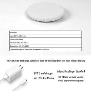 Image 5 - Chargeur sans fil Xiaomi 100% 20W charge rapide sans fil flash/ventilateur silencieux indépendant/avec norme de charge Qi