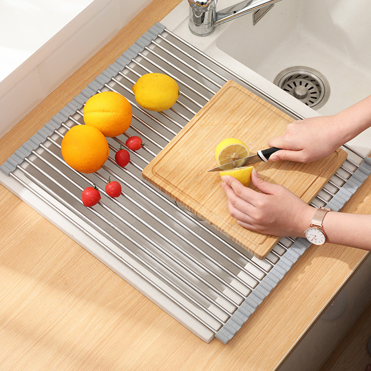 Roll Up Sink Rack