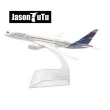 JASON TUTU 16cm Tam havayolları Boeing 777 uçak modeli uçak Model uçak Diecast Metal 1/400 ölçekli uçaklar fabrika toptan