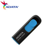 Adata UV128 Usb Flash Drive 128Gb 64Gb 32Gb 16Gb Usb 3.2 Flash Drive Intrekbare Capless Pen drive Hoge Snelheid Pendrive