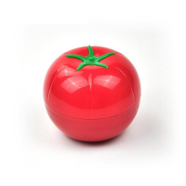 6pc Kitchen Food Crisper Vegetable Containers Tomato Lemon Fresh Storage Box Top