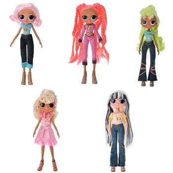 LOL SURPRISE Big Sister Doll Girl Doll Original Head Body Toy Hair DIY Doll Part Girl Fashion DIY Dressing Toys For Girl Gift l o l surprise lol surprise doll big sister cherry glam glitter series 2
