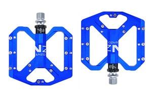 Image 3 - ENZO płaskostopie Ultralight pedały do rowerów górskich MTB stop aluminium CNC Sealed 3 łożyska antypoślizgowe pedały rowerowe części rowerowe