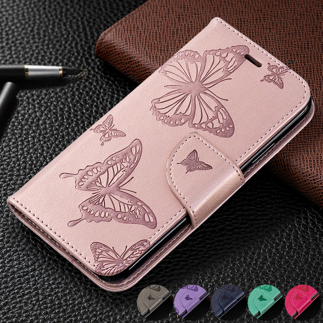 PU Leather Case For Samsung Galaxy A10 A20 A30 A40 A50 A70 A10E A20E Note 10 Plus S10 S9 Plus M10 M20 M30 Flip Wallet Case Coque