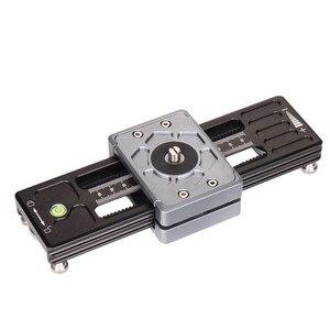 "Image 5 - Kolivar スライダー 9 ""/23 センチメートルミニ調整可能な減衰カメラトラックレールド一眼レフカメラ用スマートフォン DV 移動プロビデオ映画"