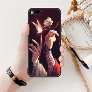 Image 4 - حافظة هاتف صينية من Tian Guan Ci Fu لهواتف شاومي Mi Max نوت 3 A2 A3 8 9 9T 10 Lite Pro حافظة سوداء فائقة فاخرة من مادة البولي يوريثان من السيليكون