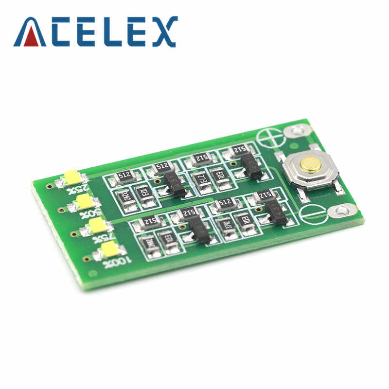 3 S 11.1V 12V 12.6V Lithium Batterij Capaciteit Indicator Module Lipo Li-Ion Power Niveau Display Board 3 serie 9-26V