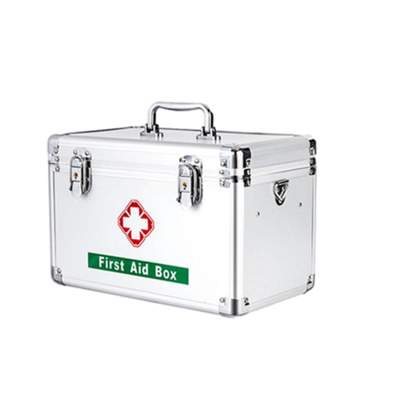 First Aid Pill Cases Medicine Box Family Pill Cases Plastic Storage Box Multi-layer Large-capacity Medicine Box