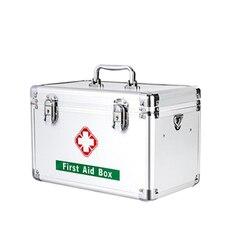 Pastillero de primeros auxilios caja de medicina caja de pastillero familiar caja de almacenamiento de plástico caja de Medicina de gran capacidad multicapa
