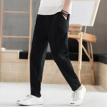 Plain Color Plus Size Mens Workout Pants Streetwear Fashion