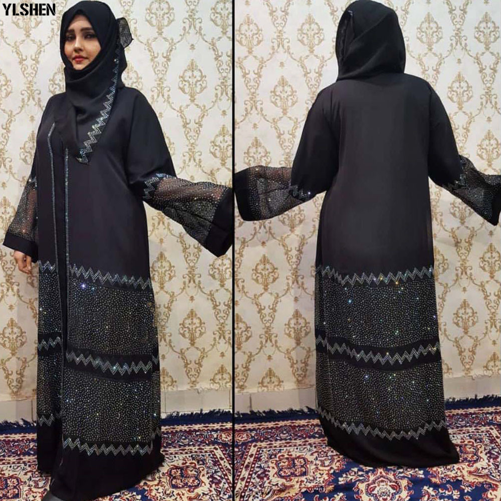 Ramadan Eid Mubarak Abaya Dubai Femme Turkish Luxury Hijab Muslim Dress African Dresses Abayas For Women Kaftan Islamic Clothing