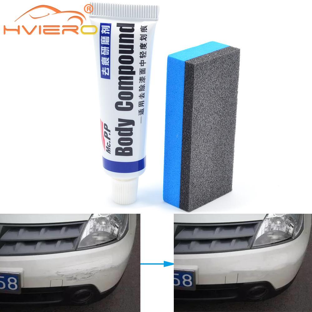 Araba şekillendirici vaks Scratch tamir kiti oto vücut bileşik MC308 parlatma taşlama macunu boya temizleyici cilası bakım seti otomatik düzeltmek