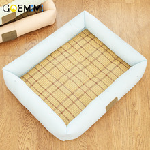 Summer Pet Dog Cooling Mat Dogs Bed Round Puppy Pad Soft Kennel House Sofa for Cat Litter Nest Chihuahua Sleeping Cushion