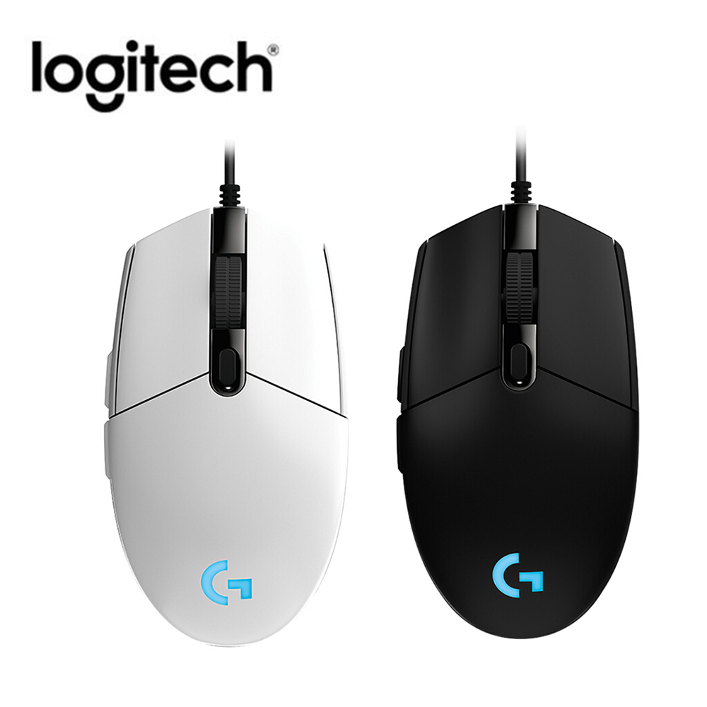 Logitech G102 Gaming Mouse Macro Programmable Mechanical Buttons Mice For Windows 7 6000DPI RGB Wired Mouse For Desktop Laptop
