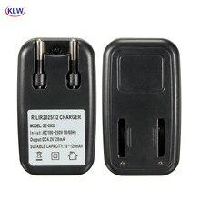 EU Plug AC power lithium 2032 2025 Battery Charger Adapter For  LIR2032 LIR2025 ML2032 ML2025 CR2032 Coin Button Cell Battery