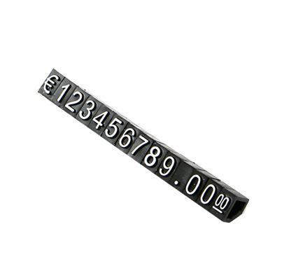 Large Combined Price Tag Dollar Euro, Snap Number Digit Cubes Stick Clothes Phone Laptop Jewelry Showcase Counter Price Display