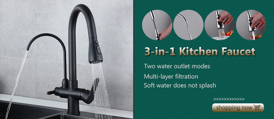 H1dffe802d963472e925dfc3b93b3b4ef2 Black Faucet Bathroom Sink Faucets Hot Cold Water Mixer Crane Deck Mounted Single Hole Bath Tap Chrome Finished ELM457