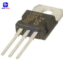 1 unidad chips CI LM317T LM317 317 Transistor regulador ajustable a-220 regulador de voltaje circuito integrado Original(China)