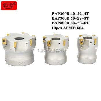 BAP300R 40-22-4T 50-22-5T 63-22-6T Face Mill, Flute, End Flat Cutter