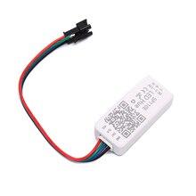 Nuevo controlador LED Bluetooth DC5-12V SP110E para controlador Led de tira LED 5,4 cm * 2,4 cm * 1,3 cm