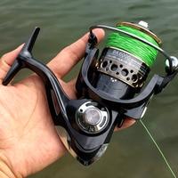 Fishing Spinning Reel Metal Spool 5.2:1/4.7:113BB Ball Bearings Carp Fishing Reel BK2000-7000 Metal Line Cup Sea Tackle