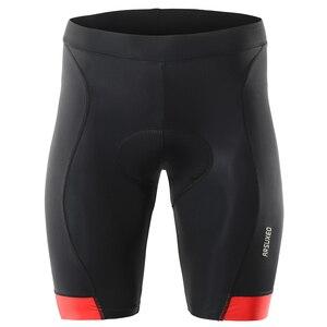 Image 5 - ゲルパッドサイクリングマウンテンバイクショーツ男性ダウンヒル MTB 自転車 UnderpantsSummer 速乾性黒下着ショーツ