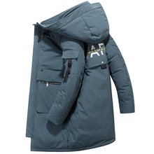 High Quality Down Jacket Keep Warm Men #8217 s Winter Thick Snow Parka Overcoat Camouflage White Black Duck 2019New Fashion 1905 cheap JUNGLE ZONE Thick (Winter) L1905 REGULAR Casual zipper Full Solid Denim NONE Button Pockets Zippers Appliques Polyester