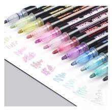 1х красочная ручка-маркер, маркер для рисования, Shool, Офисная поставка, канцелярские принадлежности для студентов