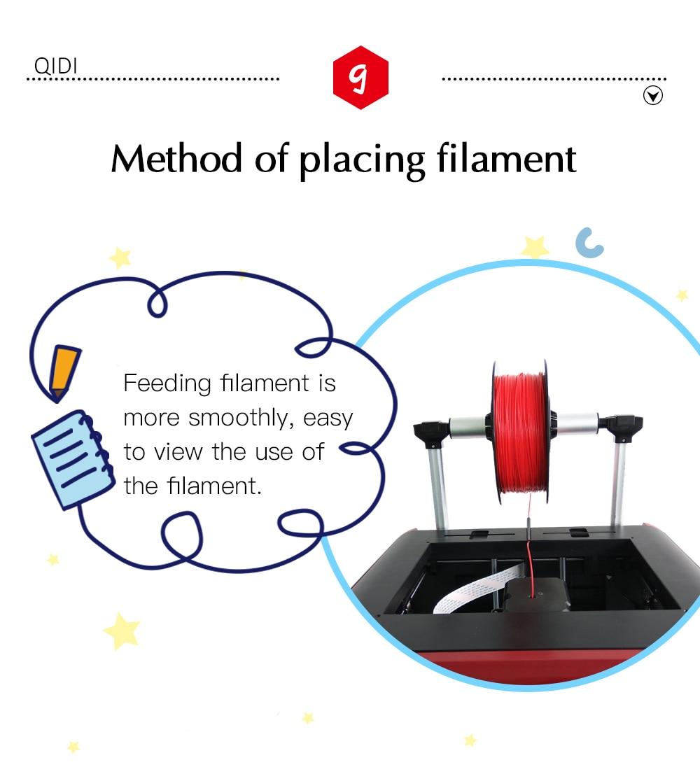 QIDI TECH X-Maker 3D Printer with Camera Wifi Touch Screen Single Nozzle Printing 17