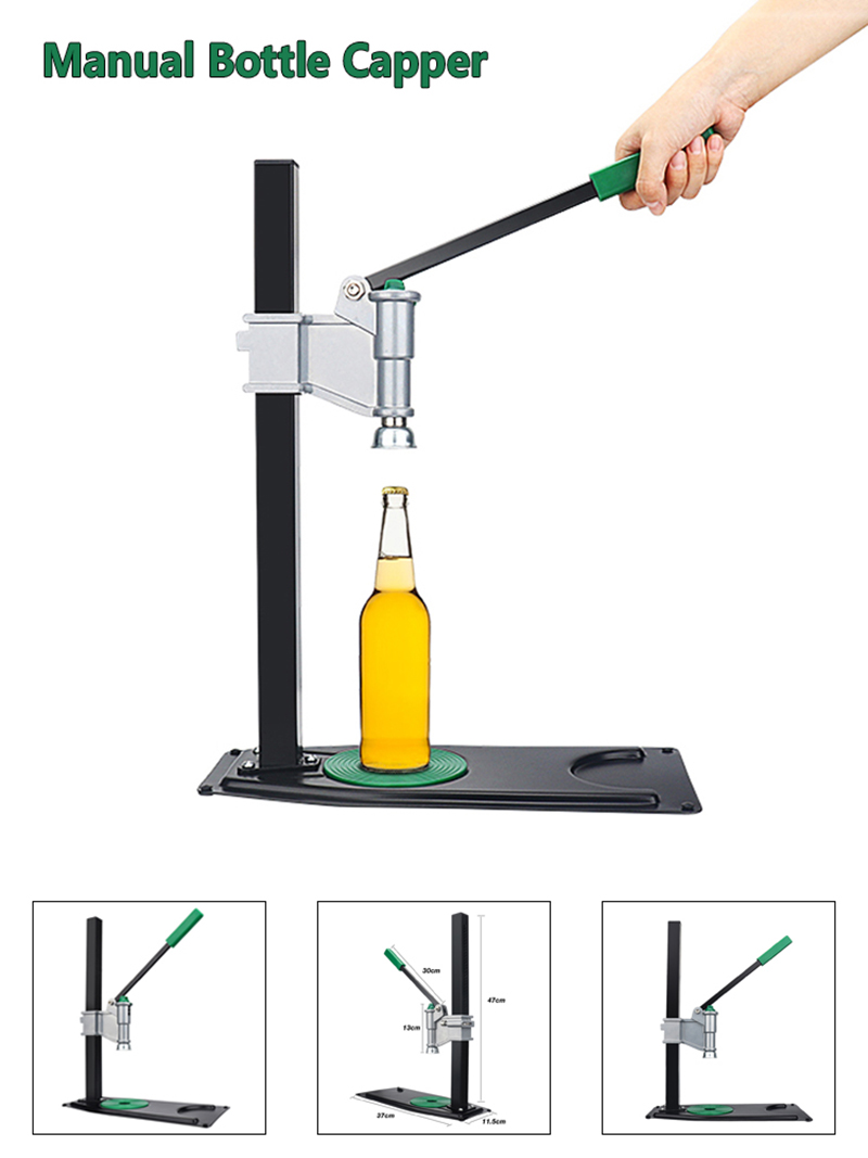 Manual Bench Bottle Capper Beer Bottle Capping Machine US SHIPPING