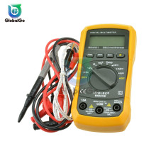 MS8233E Mini LCD Digital Multimeter Auto Ranging AC/DC Volt Amp Ohm Tester Meter Back Light Handheld Multimetro