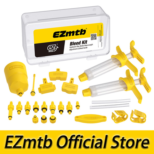 2021 EZmtb Universral Bleed Kit For Shimano Magura Avid Sram Tektro Disc Brake Bicycle Bike