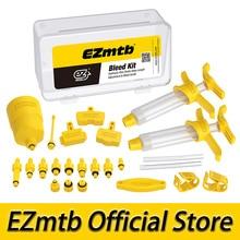 2021 EZmtb Universral לדמם ערכת עבור Magura Shimano Avid Sram Tektro דיסק בלם אופניים אופניים
