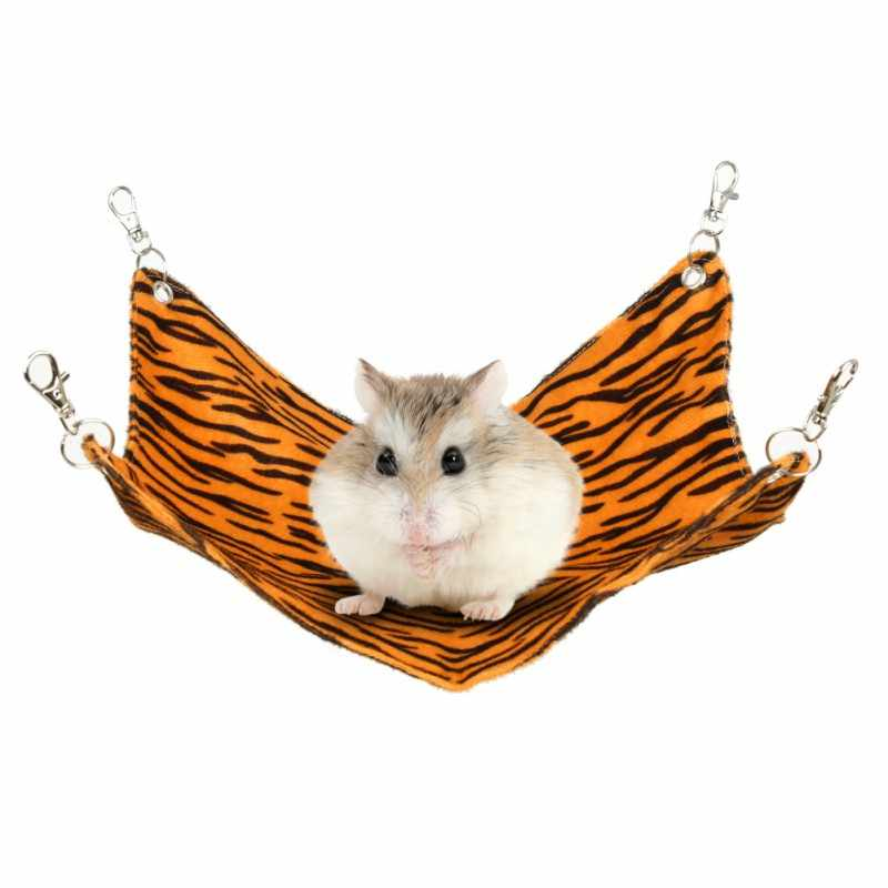 Pet Dogs Cats Hamster Guinea Rabbit Cage Hanging Bed Pad Mat Hamsters Pet Sleeping Hammock Small Animel House Platform