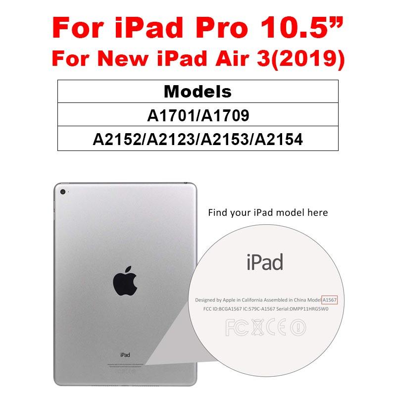 6D защита экрана с закругленными краями для iPad Pro 11 10,5 закаленное стекло на iPad 10,2 9,7 Air 1 2 3 mini 4 5 - Цвет: iPad Pro 10.5 Air 3