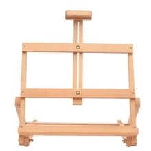 Adjustable Tabletop Wooden Easel Stand Sketch Easel Accessories Studio H-Frame for Artist Painting Easel Drawing Art Supplies
