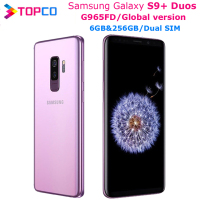 "Samsung Galaxy S9+ Duos S9 Plus G965FD Global V Dual Sim Original Mobile Phone Exynos Octa Core 6.2"" Dual 12MP 6GB&256GB NFC 1"