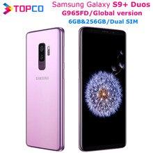 Samsung Galaxy S9 + Duos S9 más G965FD mundial V Dual Sim teléfono móvil Original Exynos Octa Core 6,2