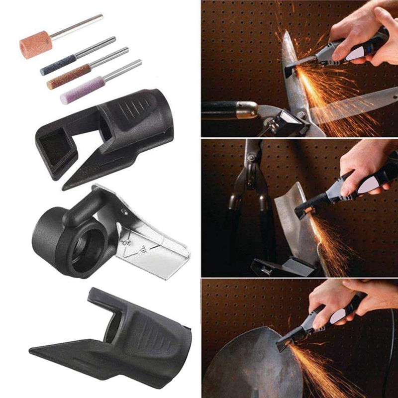 Attachment Kit For Sharpening Outdoor Gardening Tools,For Dremel Sharpening Kit Dremel Tool Slow Cutting Chain Saw Blades Easily