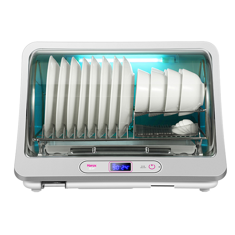 Hanze 35L Disinfection Cabinet UV Sterilizer Ozone Negative Ion Disinfection LCD Electronic Dish Dryer Tableware Disinfection