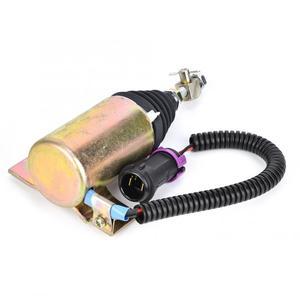 Image 3 - 12V Kraftstoff Abgeschaltet Stop Magnetventil XHF 1121 E483310000093 Fit für Foton 483 Abgeschaltet Magnet