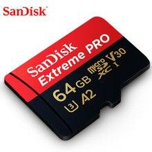 SanDiskExtreme Pro 256G 128GB 64GB 32GBmicroSDHC SDXC UHS-I hafıza kartı mikro SD kart TF kart 170 MB/s Class10 U3 SD adaptörü ile