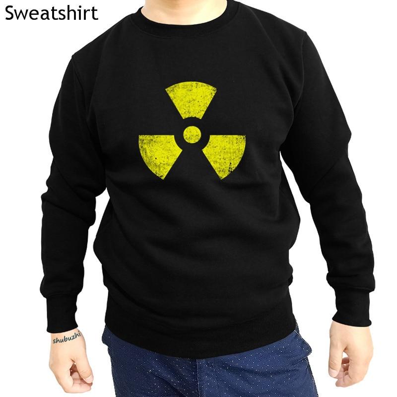 new arrived casual fashion hoodies RADIOACTIVE VINTAGE SYMBOL sweatshirt - Goth TBBT Cyber Hardcore Logo Gothic hoody sbz4337(China)