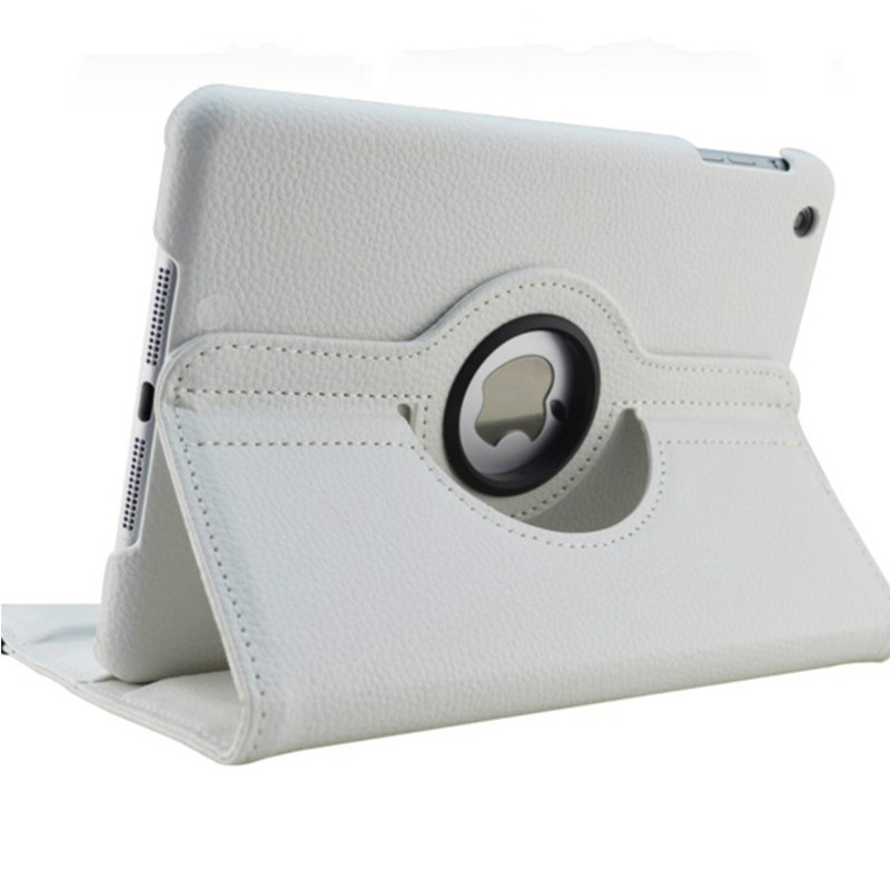 White White Case for Apple iPad pro 11 Case 2020 A2228 A2068 A2230 2nd 360 Degree Rotating Leather