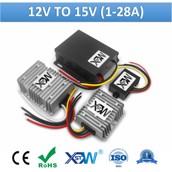 XWST Non Isolated DC 12v to 15v 1A 28Amp Max Output Step Up Boost Power Converter dc Voltage Regulator - sale item Electrical Equipment & Supplies