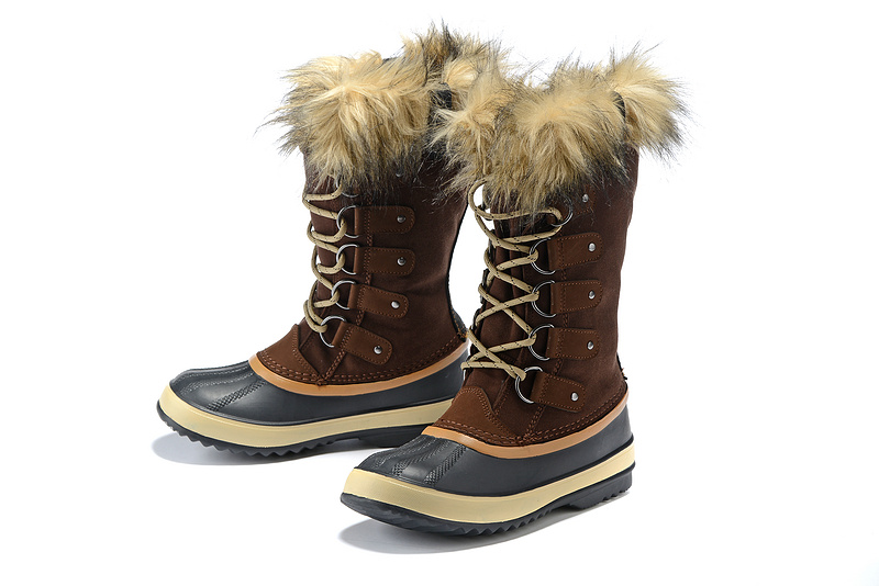 Winter outdoor hiking boots women waterproof wool liner plush trekking snow boots ladies non slip thermal snow shoes for 40c Hiking Shoes     - title=