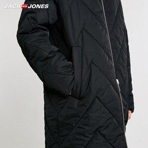 Image 4 - JackJones Mens Reversible Hooded Parka Coat Long Padded Jacket Menswear 218409505