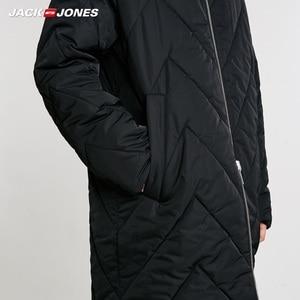 Image 4 - JackJones الرجال عكسها مقنعين معطف بركة (سترة من الفراء بقبعة للقطب الشمالي) طويلة وسادة مبطنة الملابس الرجالية 218409505
