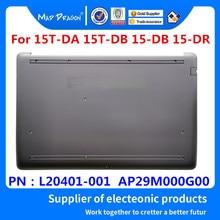 Nouveau Original L20401-001 AP29M000G00 Pour HP 15T-DA 15T-DB 15-DB 15-DR Portable Fond Couvercle Inférieur L'assemblée coquille Argentée