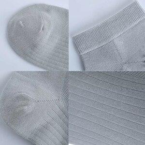 Image 5 - 5 Pairs Youpin 365 Slijtage Lente En Zomer Ademend Antibacteriële Mannelijke Sokken Zachte Comfrotable Zilver Ion Antibacteriële Nieuwe